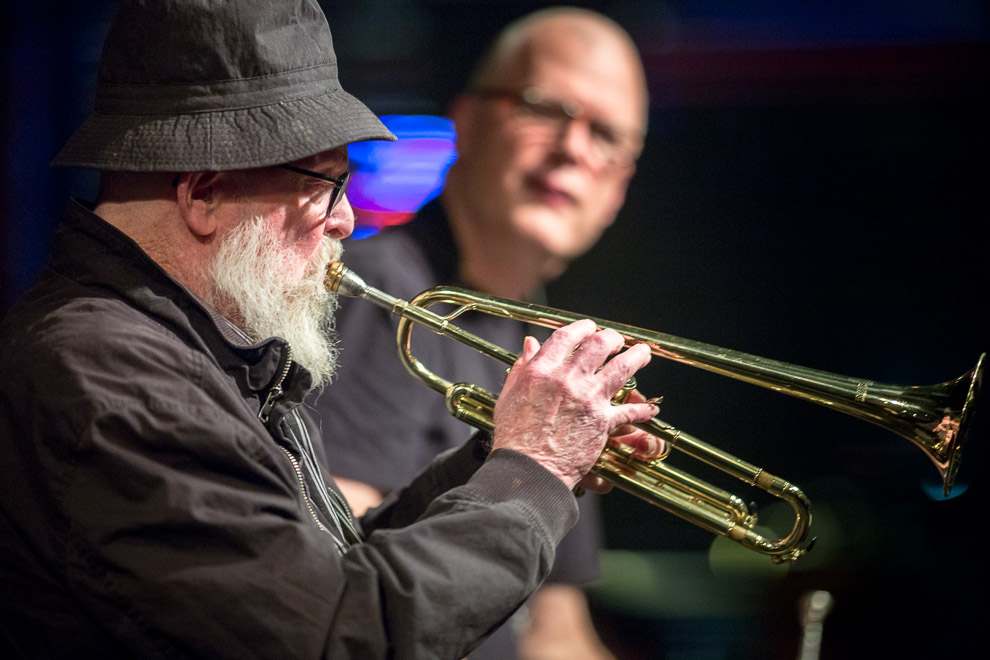 Trumpet players featured at Earshot Jazz Festival