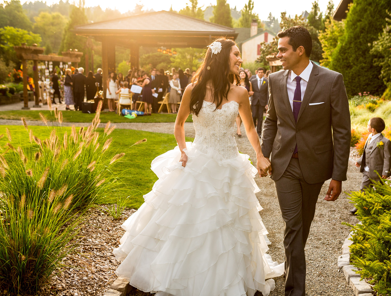 Willows Lodge wedding photography