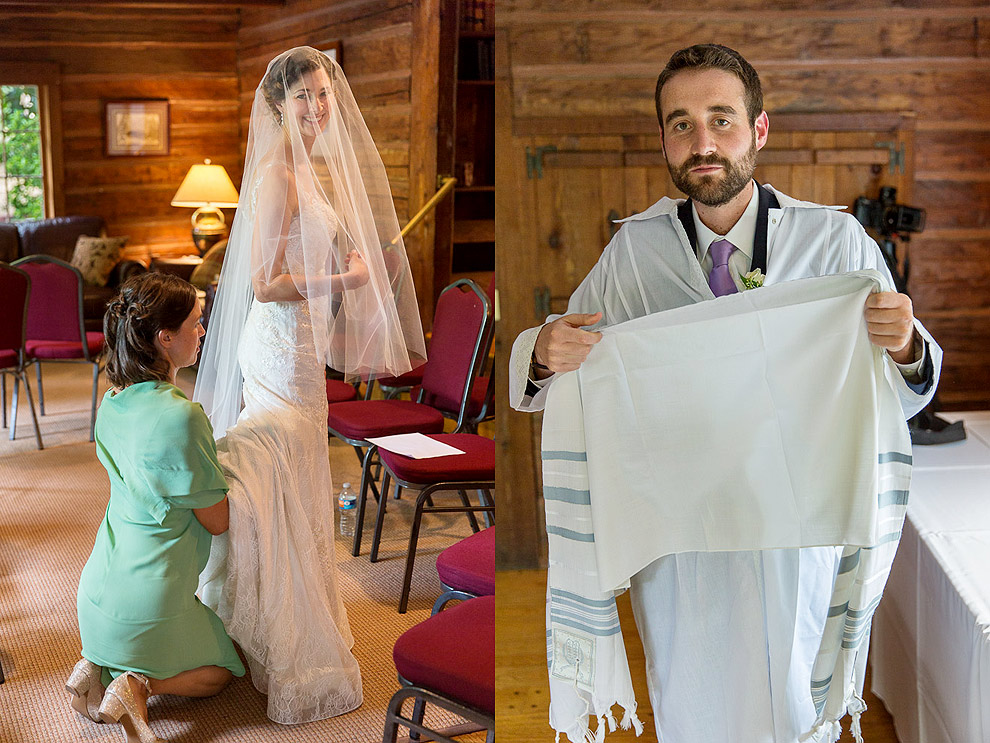 A Jewish Wedding at Roninswood House in Bellevue WA by a seattle Wedding photographer
