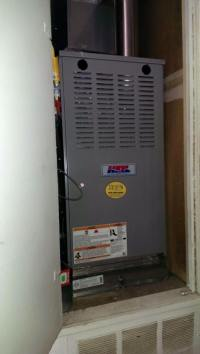 Install of HEIL Furnace - Daniel's Heating and Air ...