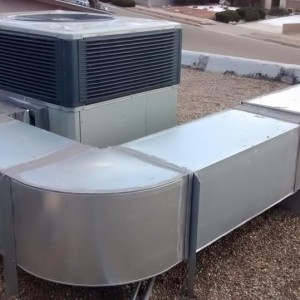 Install Of Trane Heat Pump Amp Duct Work