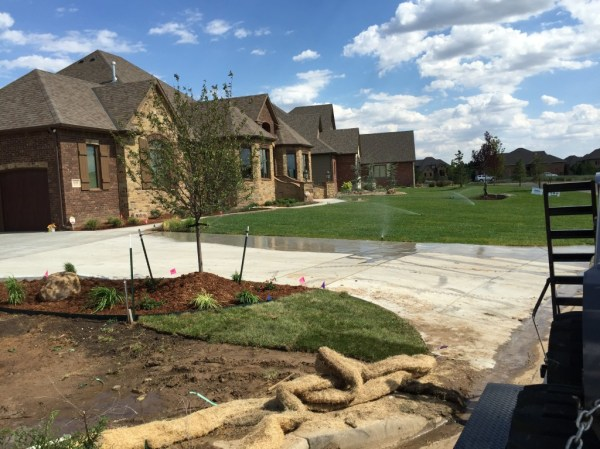 home landscaping daniels