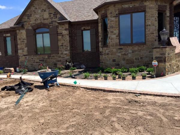 home landscaping daniels
