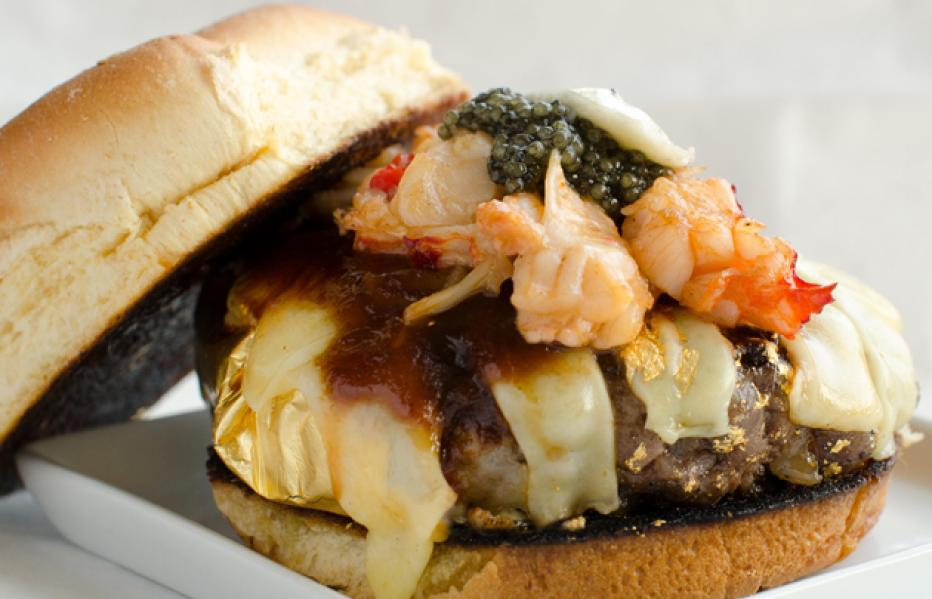 America's most expensive burgers: The 666 Douche Burger