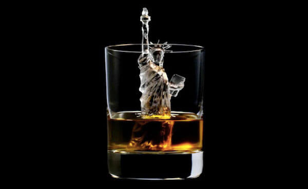 Cool 3D-milled ice cubes that are a work of art: Statue of Liberty