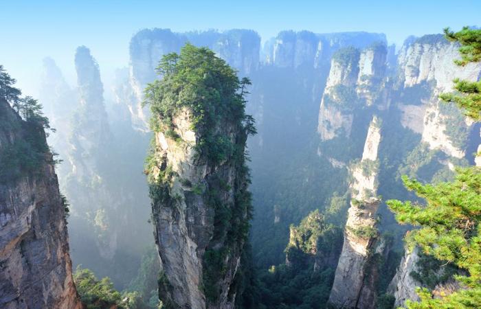 tianzi-mountains-china