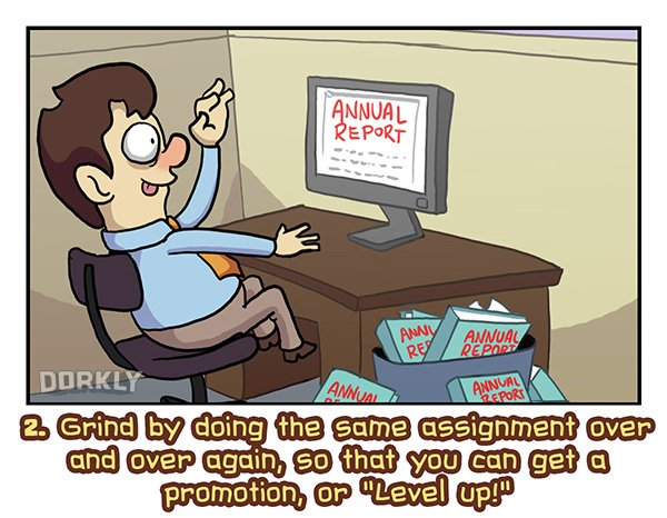 7 fun ways to make your desk job more like an RPG