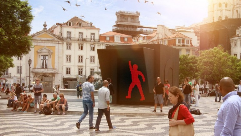Make crossing the road fun with dancing pedestrian signals