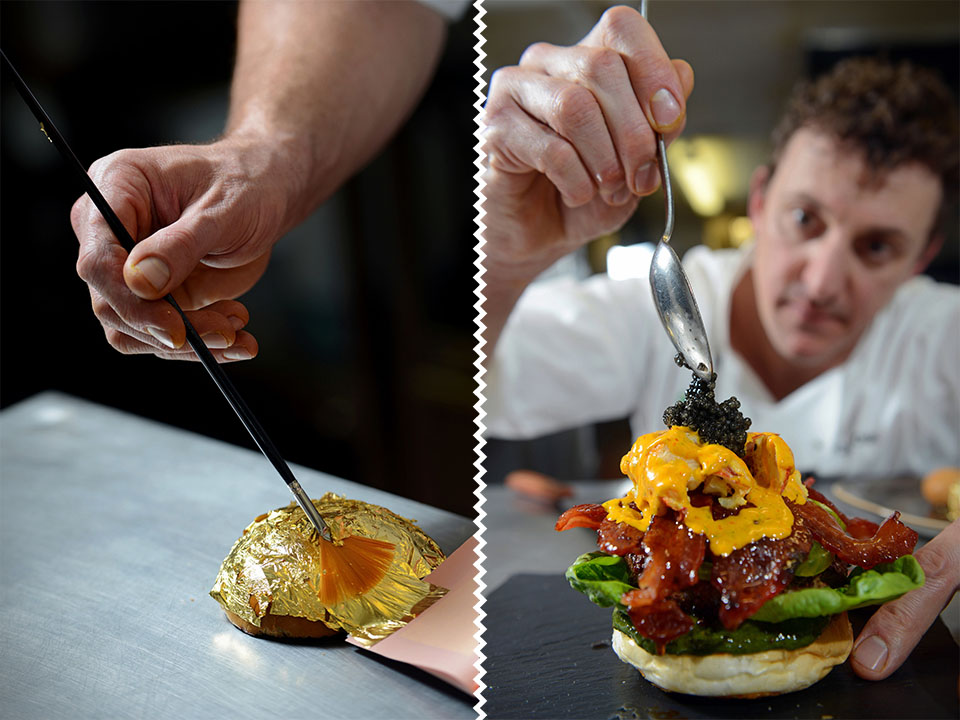 The most expensive hamburger on Earth: the Glamburger