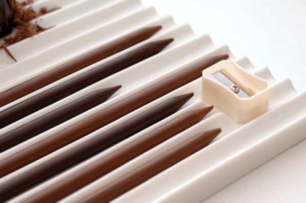 Chocolate pencils for people who love art and chocolate