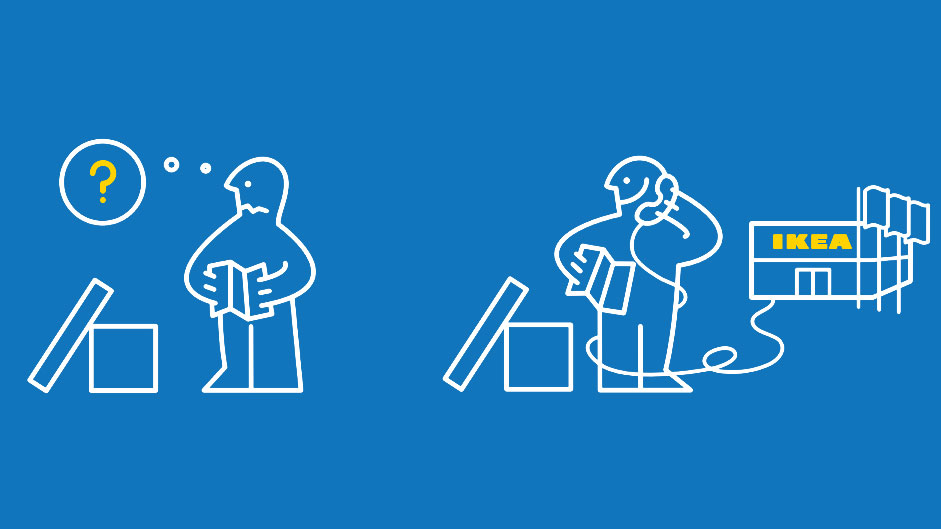 IKEA instructions humorously depict handling real life situations