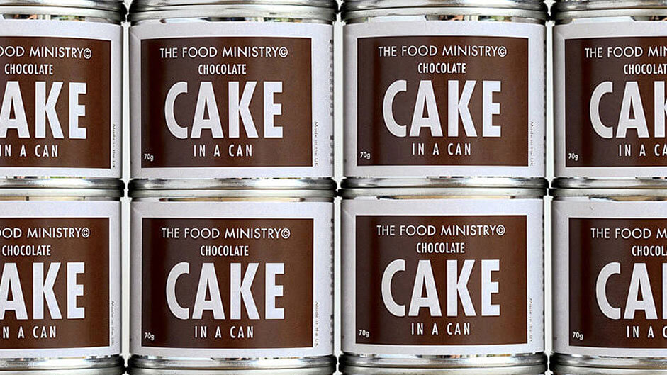 Discover Cake in a Can by The Food Ministry