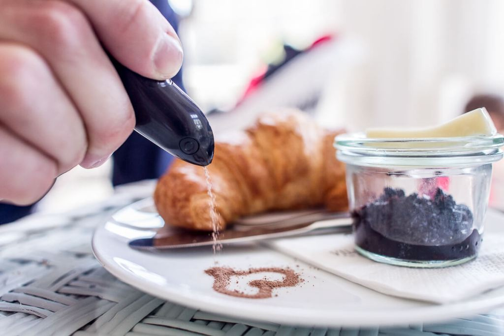Draw on your food with the world's first Spice Pen