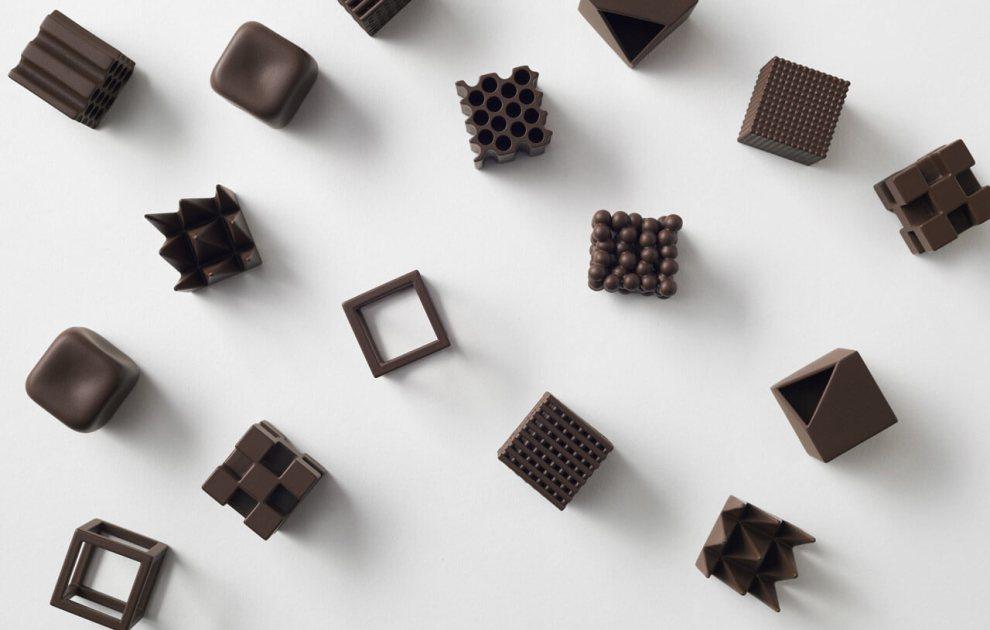 The world's most beautiful geometric designed chocolates