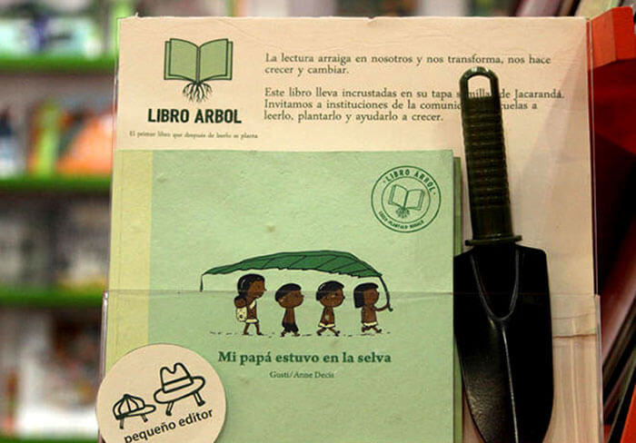 Plant this eco-friendly tree book to regrow a tree