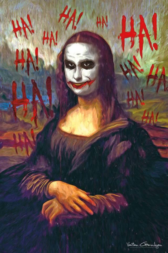 Vartan Garnikyan Batman-themed pop art: Hello, Beautiful