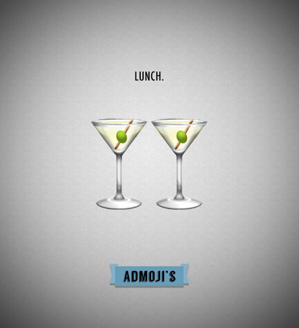 Admojis: Lunch