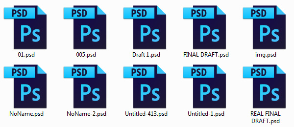 Be a design team jerk by creating confusing file names