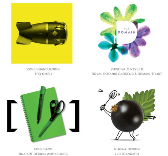 Emerging logo design trends: Photo logos