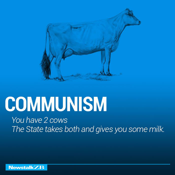 Communism: You have 2 cows