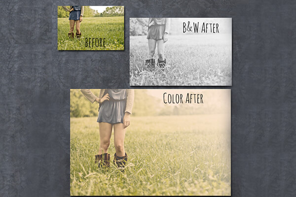 Free Photoshop Actions: Hazy Afternoon
