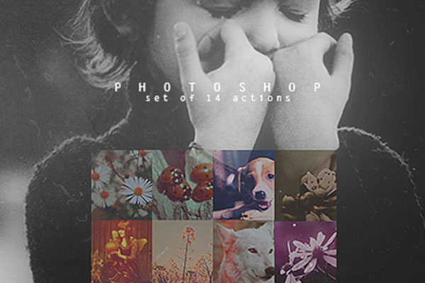 Free Photoshop Actions: Vintage Collection