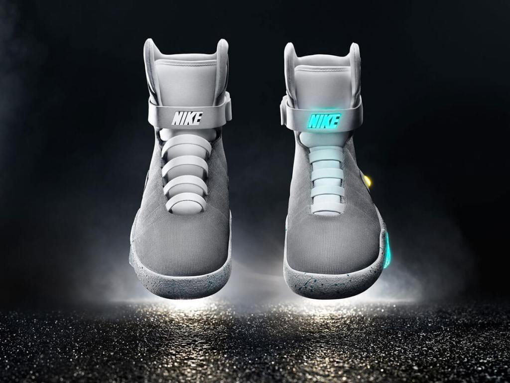 2015 Nike Mag self-tying shoes from Back to the Future Part II