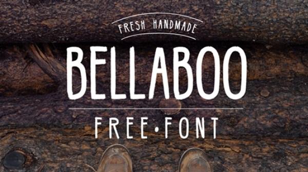 Free font: Bellaboo