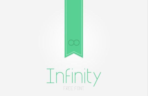 free-typeface-infinity