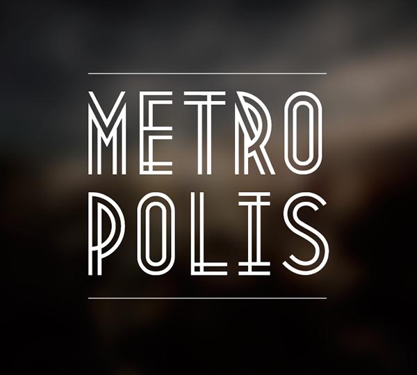 free-typeface-metropolis