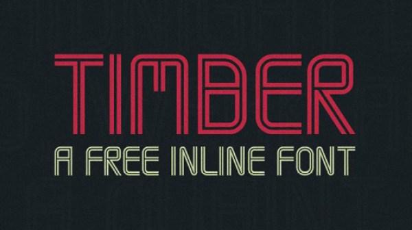 free-typeface-timber