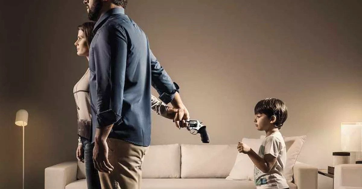 Powerful ads warn about the dangers of child neglect