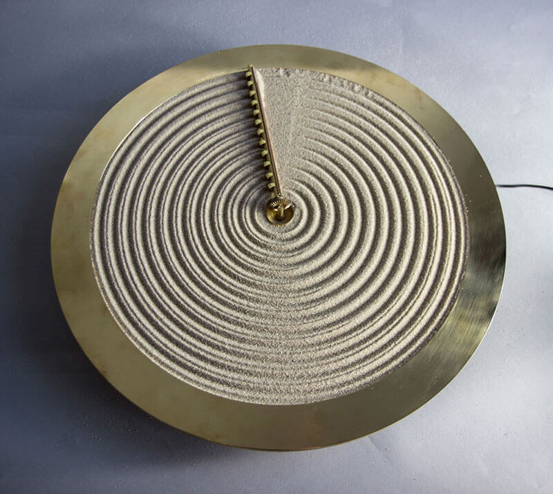Ripples of Time: Sand Clock