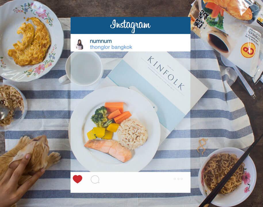 The truth behind glamorous Instagram photos