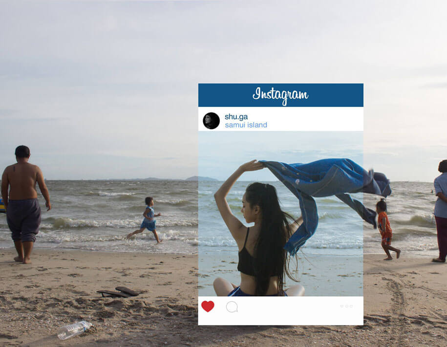 The truth behind glamorous Instagram photos