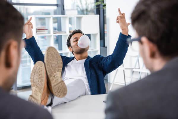 Unprofessional habits: Using profanity