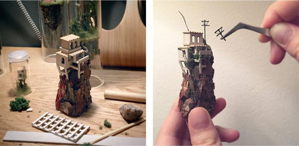 Tiny worlds by Rosa de Jong