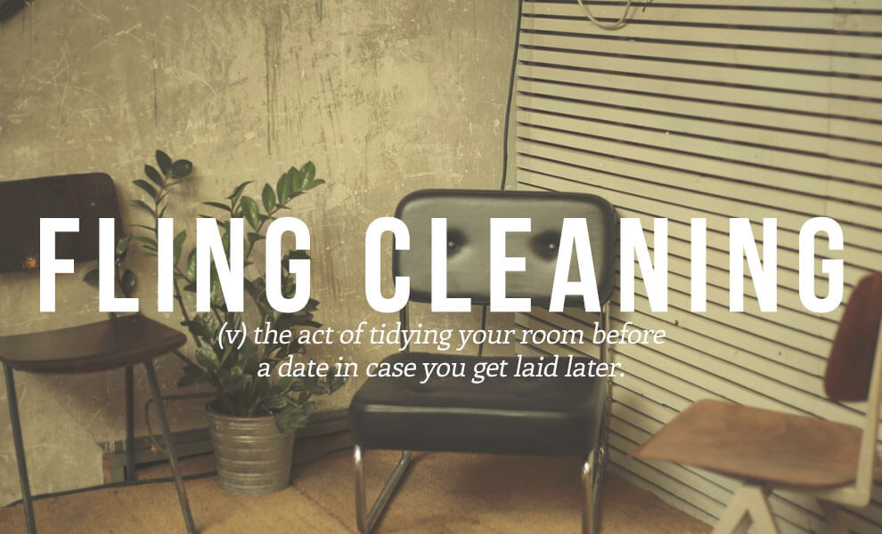 Highly sexual words: Fling Cleaning