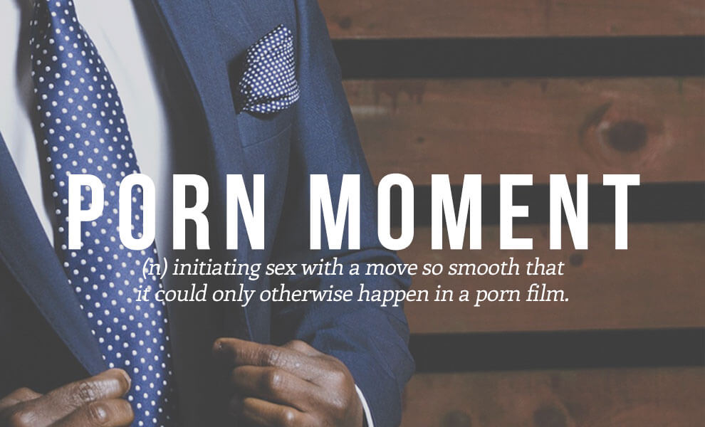 Highly sexual words: Porn Moment