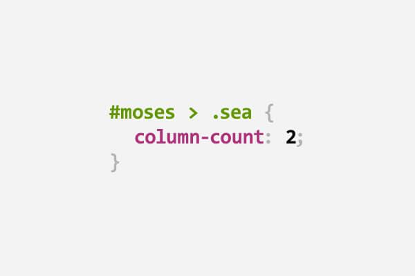 Moses funny CSS pun