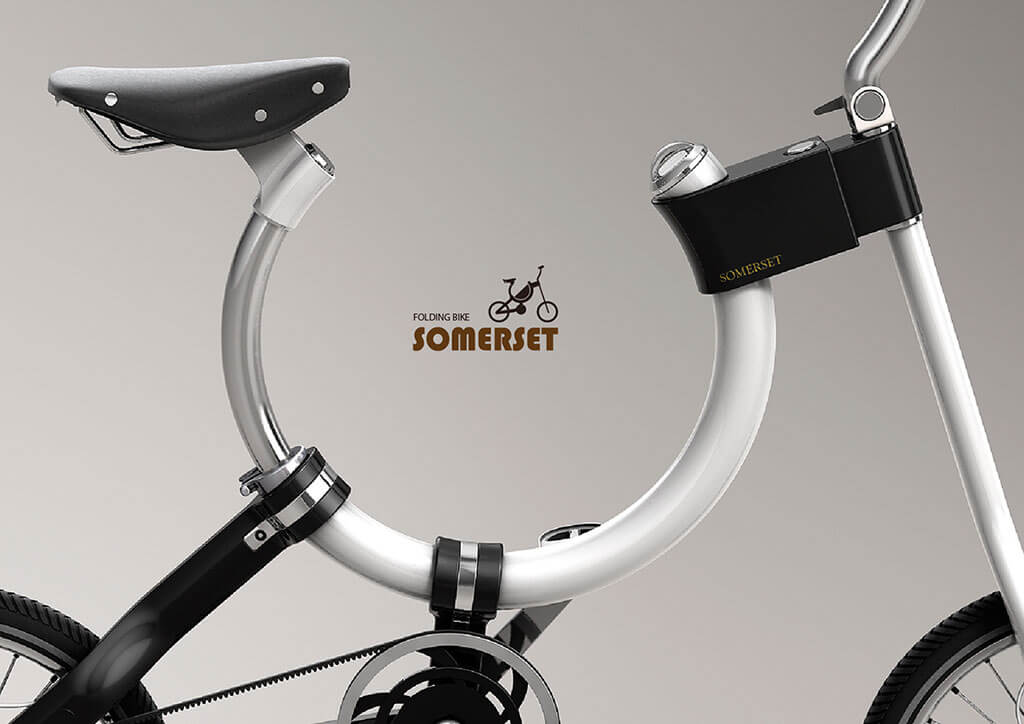 Frame design of the bicycle
