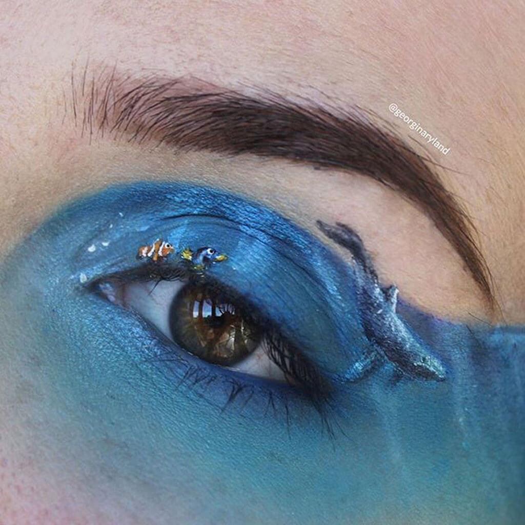 Georgina Ryland eyelid artworks