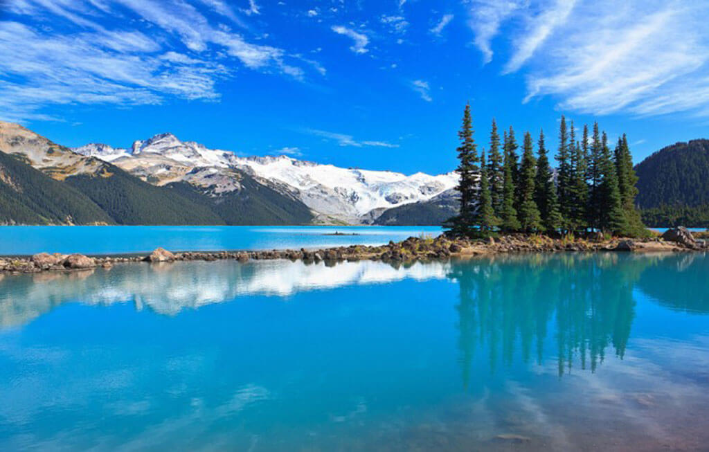 Canada has the most lakes