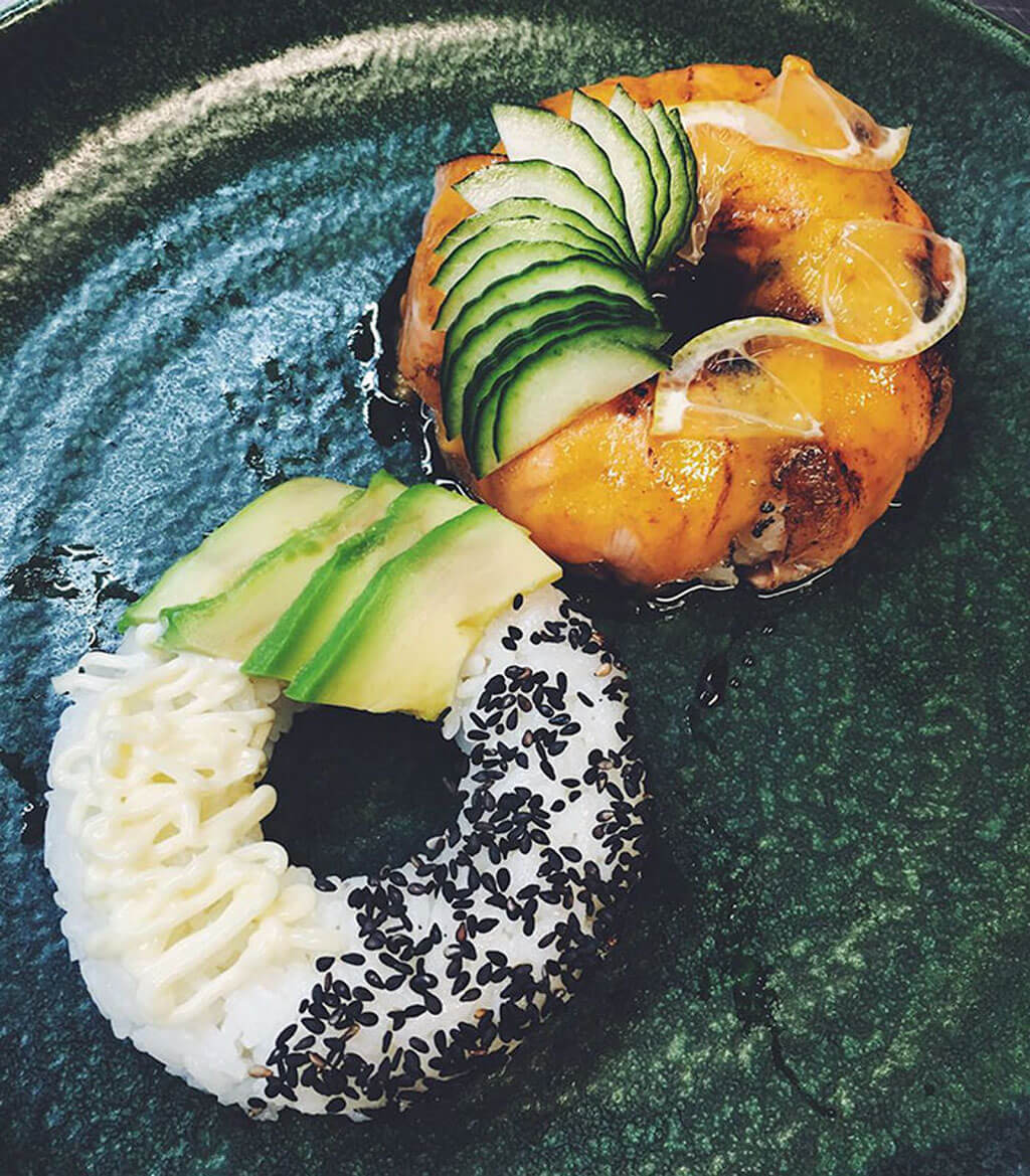 A healthier alternative to the traditional donut