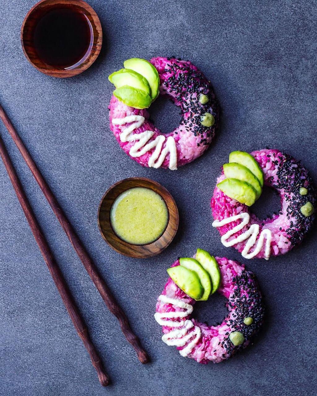Sushi donut trend