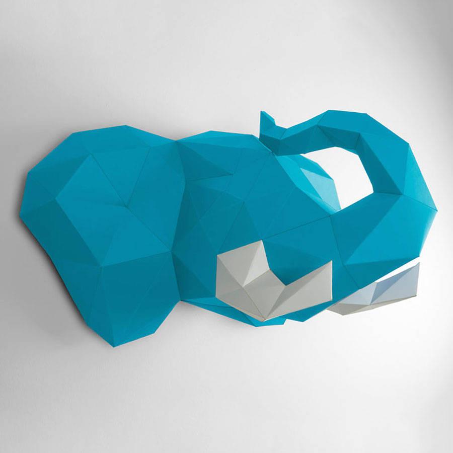 low-polygon-geometric-animal-head-trophies-elephant