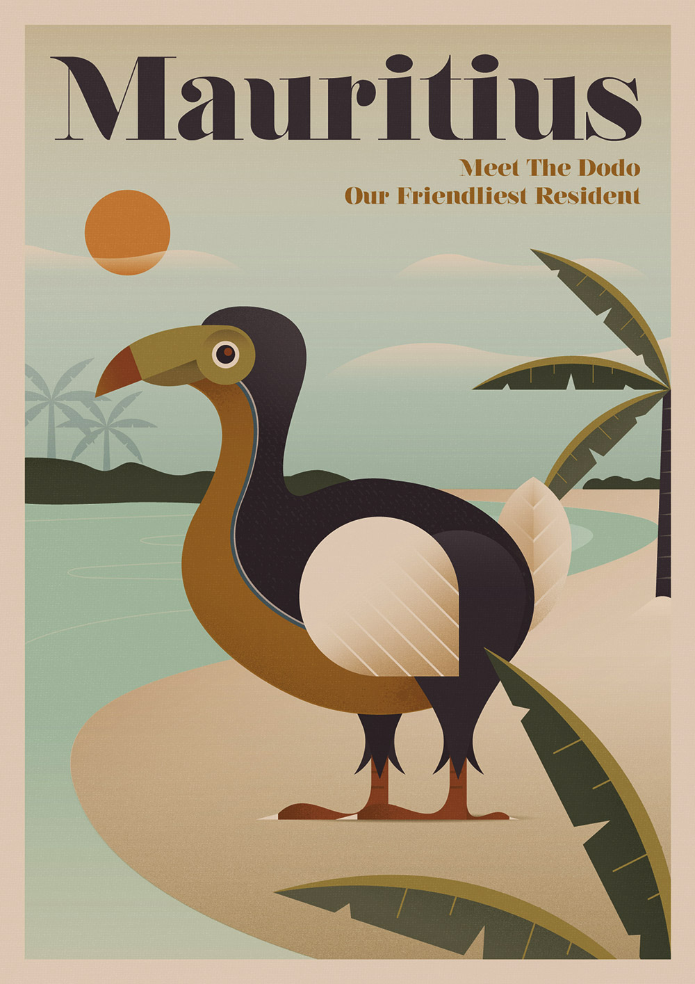 Dodo Visit Mauritius today, and you'll see many lovely sights, but not the unfortunate Dodo, which went extinct sometime after 1662.