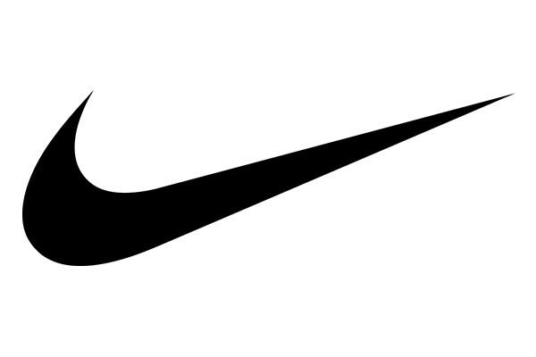 The importance of shapes: Nike Swoosh