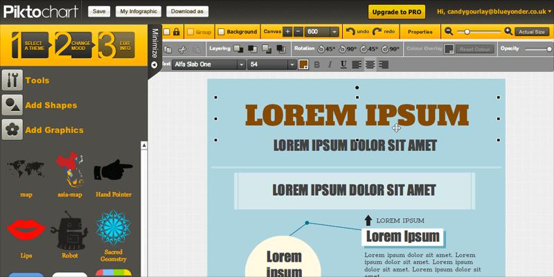 Infographic Maker Piktochart