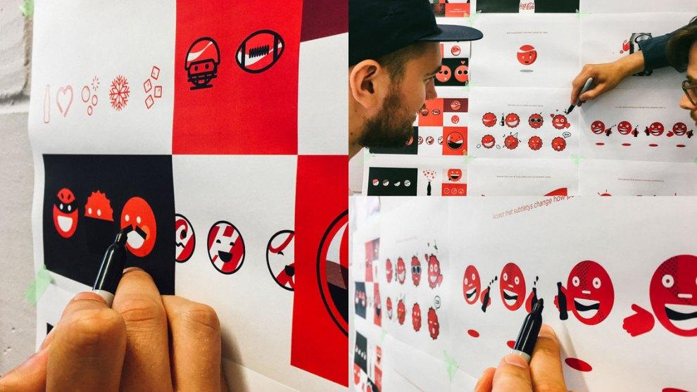 Koto bottle cap emojis design process